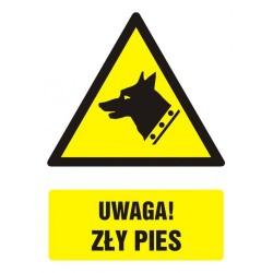 GF017 Uwaga! zły pies