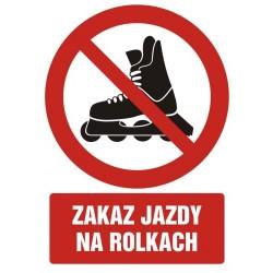 GC067 Zakaz jazdy na rolkach