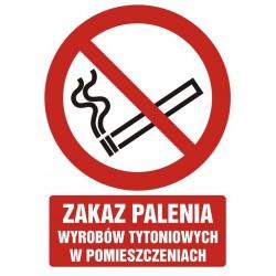 GC068 Zakaz palenia wyrobów...