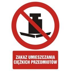GC079 Zakaz umieszczania...