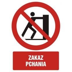 GC083 Zakaz pchania