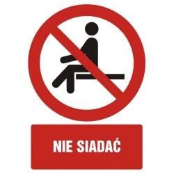 GC084 Nie siadać