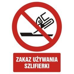 GC094 Zakaz używania...