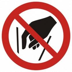GAP015 Zakaz wkładania rąk...