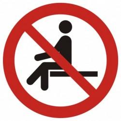GAP018 Zakaz siadania