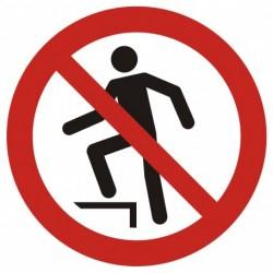 GAP019 Zakaz chodzenia po...