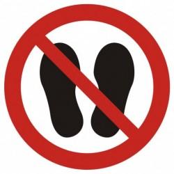 GAP024 Zakaz chodzenia i...
